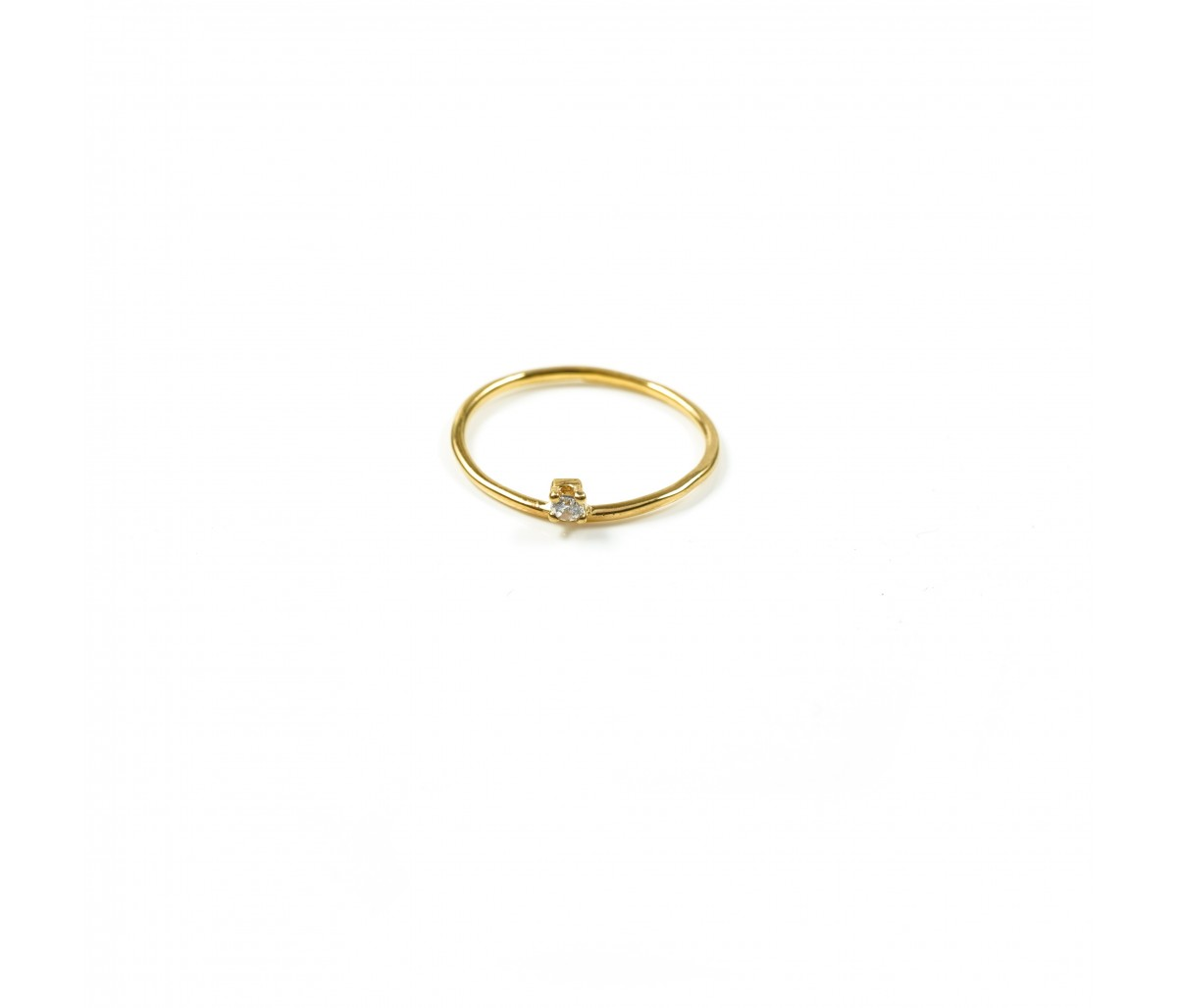 Beth 19k gold ring