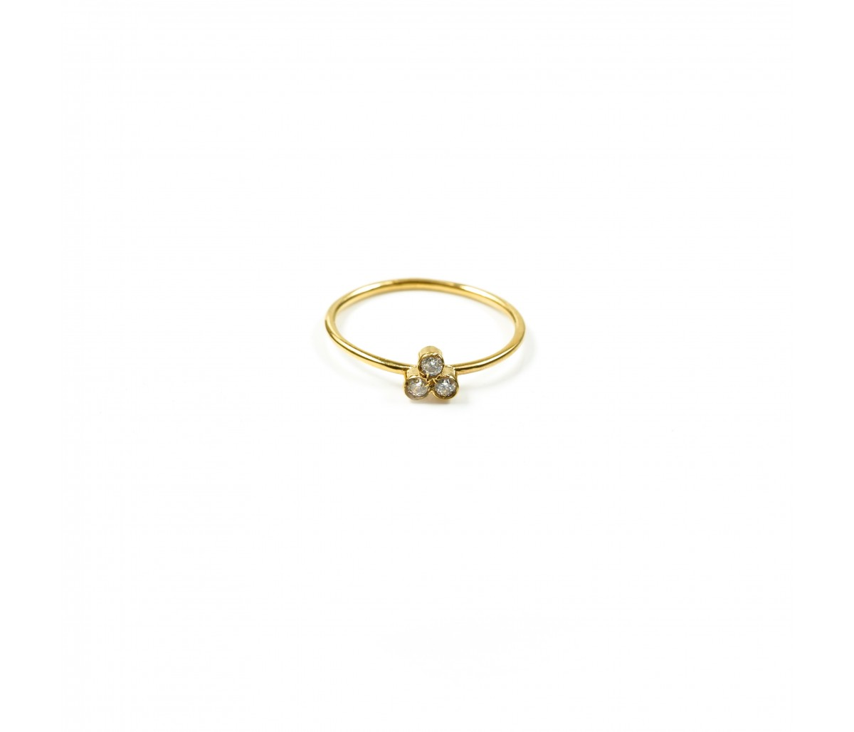 Lise 19k gold ring