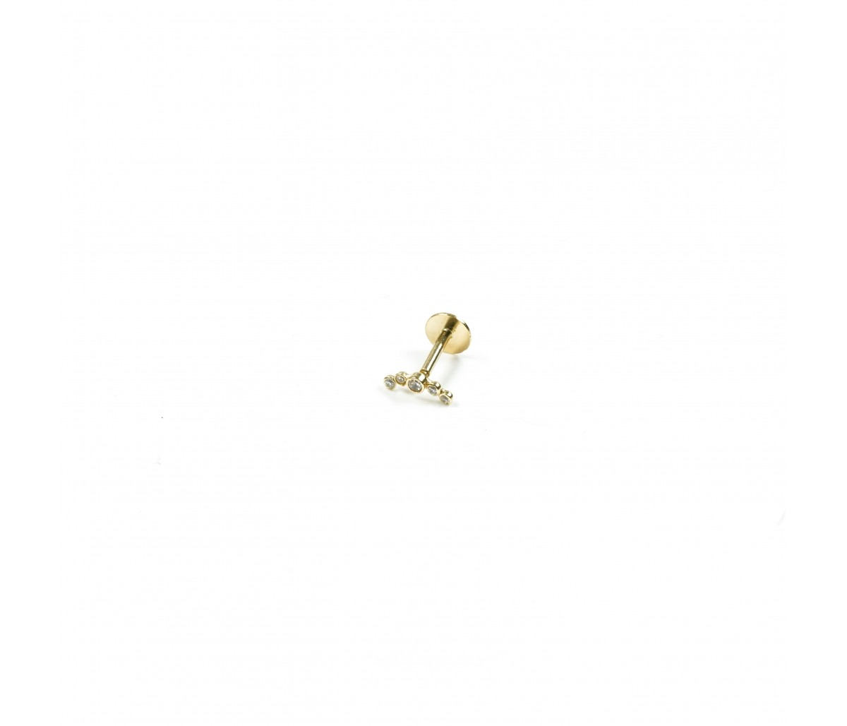 Piercing Luna or 18k