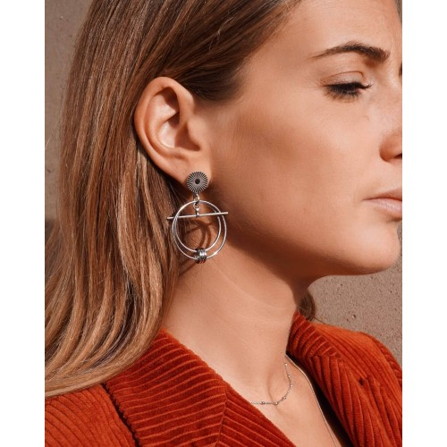 Boucles d'oreilles Solar