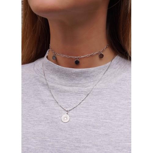 Engraving Gina necklace